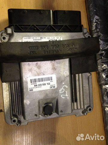 Управление Двигателем Ауди 03L906022MK— фотография №1