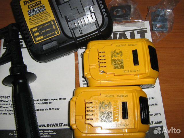 Новый набор шуруповертов Dewalt DCK299M2 США 89134329120 купить 5