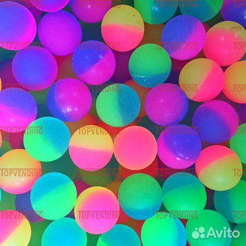 Мяч-прыгун 25 мм Половинки (Y-06) (100 шт/уп)