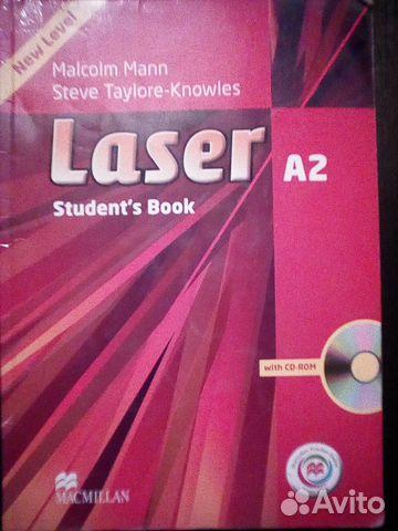 Учебник по английскому Laser A2 89178228515 купить 1
