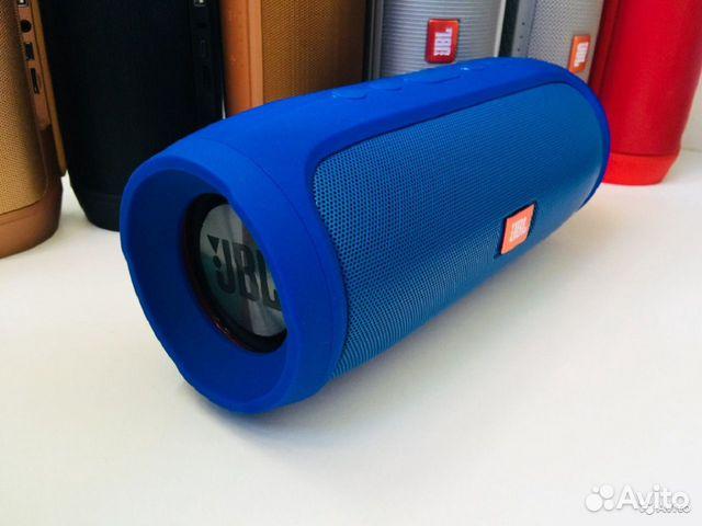 Портативная колонка JBL Charge 4 синяя 89081399218 купить 3