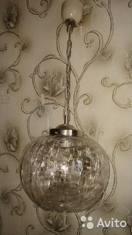 Люстра-шар, светильник