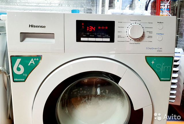 Стиральная машинка Hisense 6кг 89243458484 купить 1