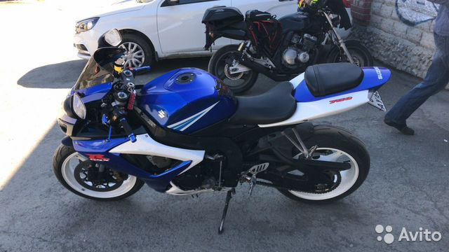 Suzuki GSX-R750 К6 2006 год купить 5