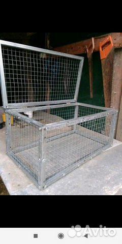 Клетки для содержания кроликов птиц и цыплят 89898713107 купить 1