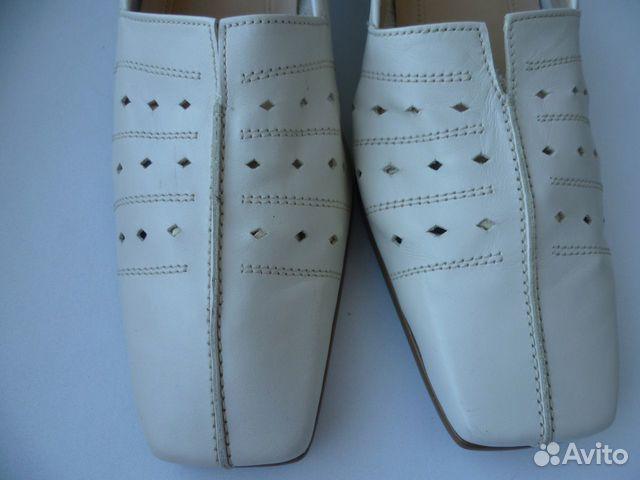 Gabor 41-42 новые женские кожаные туфли  89585853262 купить 3