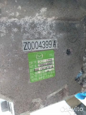 Компрессор кондиционера мазда 6 Z0004399A  89068849911 купить 1