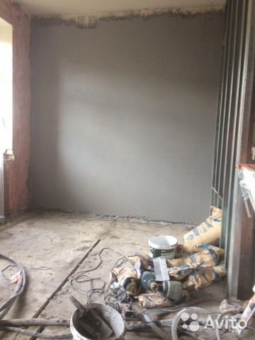 Штукатурка стен механизированным способом  89203571965 купить 2