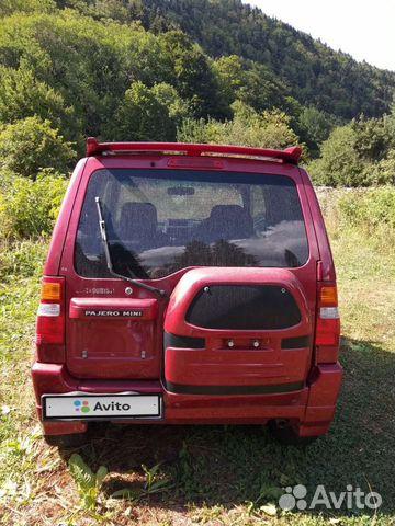 Mitsubishi Pajero Mini, 2001  89343438393 купить 3