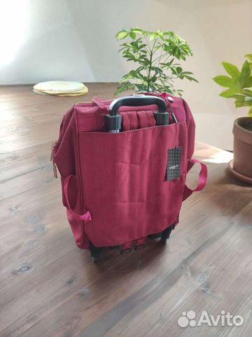 Новая сумка-рюкзак дорожная на колесиках barrley p  89208787198 купить 4