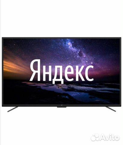 Телевизор 4K Leff 55 Smart HDR голосовое управлен  89085075350 купить 1