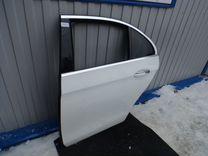 Дверь задняя левая голая Mercedes w213