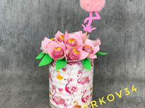 Чупа-чупс Сладкий букет Фламинго