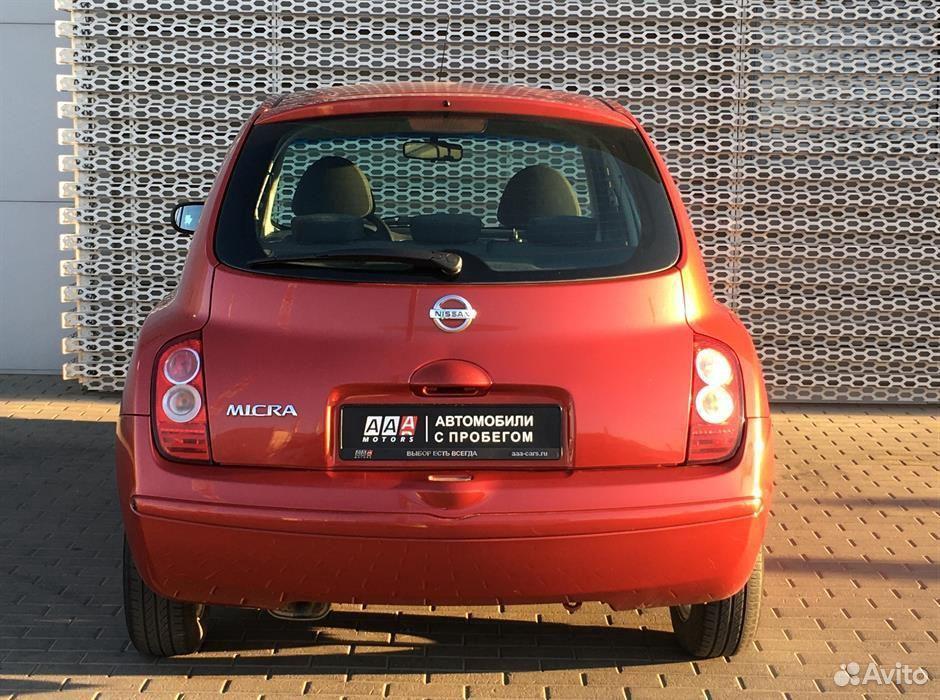 Nissan Micra, 2006  88633330423 купить 6