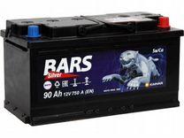 Аккумуляторная батарея Барс 90Ач 750А новый