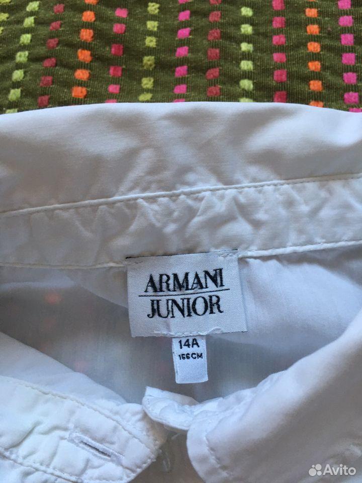 Рубашка блузка для девочки Armani оригинал 14А 166  89163063125 купить 4