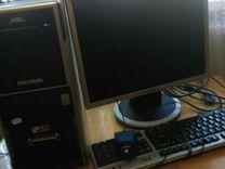 Intel core ай3 2100 Системный блок монитор клавиат