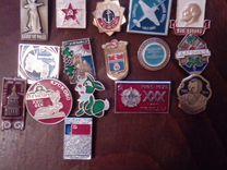 Значки СССР различной тематики