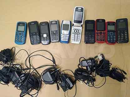 Телефон Nokia 10 шт (цена за все)