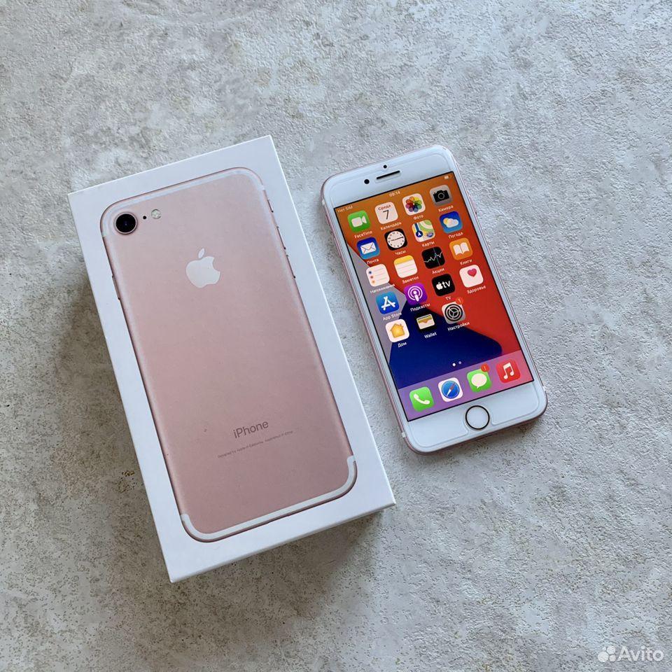iPhone 7 32Гб RU/A Rose Gold  89243435002 купить 1
