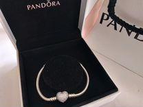 Новый браслет Пандора 17 размер