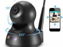 Новая поворотная IP Камера Wi-Fi в коробке