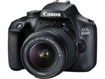 Новенький Фотоаппарат Canon 4000D Kit на гарантии — Фототехника в Магнитогорске