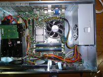 Компьютер 2х ядерный 4гб 80гб гориз