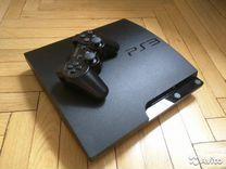 Sony PS3 Slim+17 игр+гарантия год