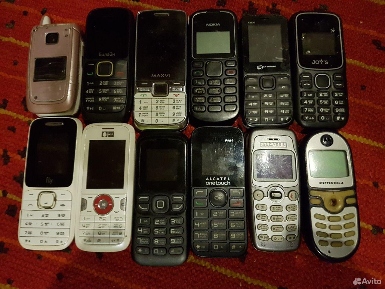 Телефоны рабочие и на запчасти