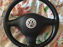 Руль для Volkswagen 3 спицы кожа