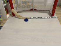 Искусственный лёд (хоккейный тренажёр) и хоккейные