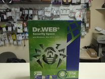 Антивирус DR.Web Security Space 2 пк 1 год