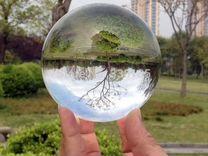 Шар стеклянный 100 мм с подставкой