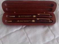 Набор новый из дерева ручка и карандаш