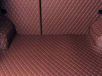 3D-коврики из экокожи премиум в багажник