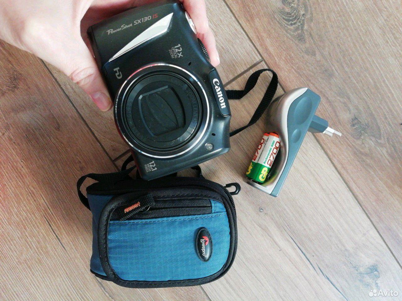 Фотоаппарат Canon+аккумы+зарядка+чехол  89185481344 купить 1