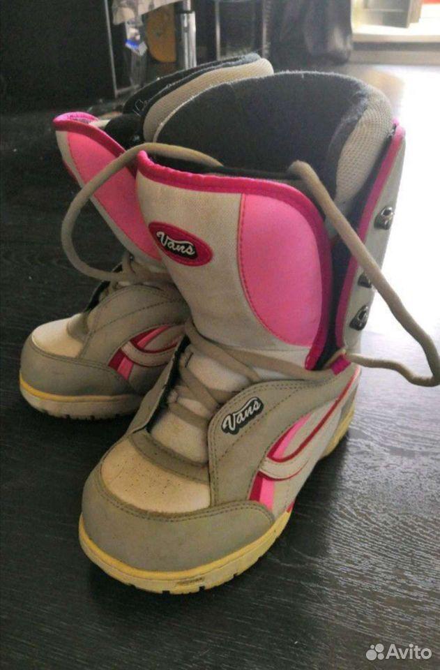 Сноуборд + крепы + ботинки