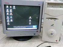 Компьютерный монитор и системник