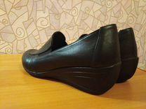 Туфли натуральная кожа, демисезонные — Одежда, обувь, аксессуары в Новосибирске