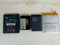Аккумуляторыя для телефонов