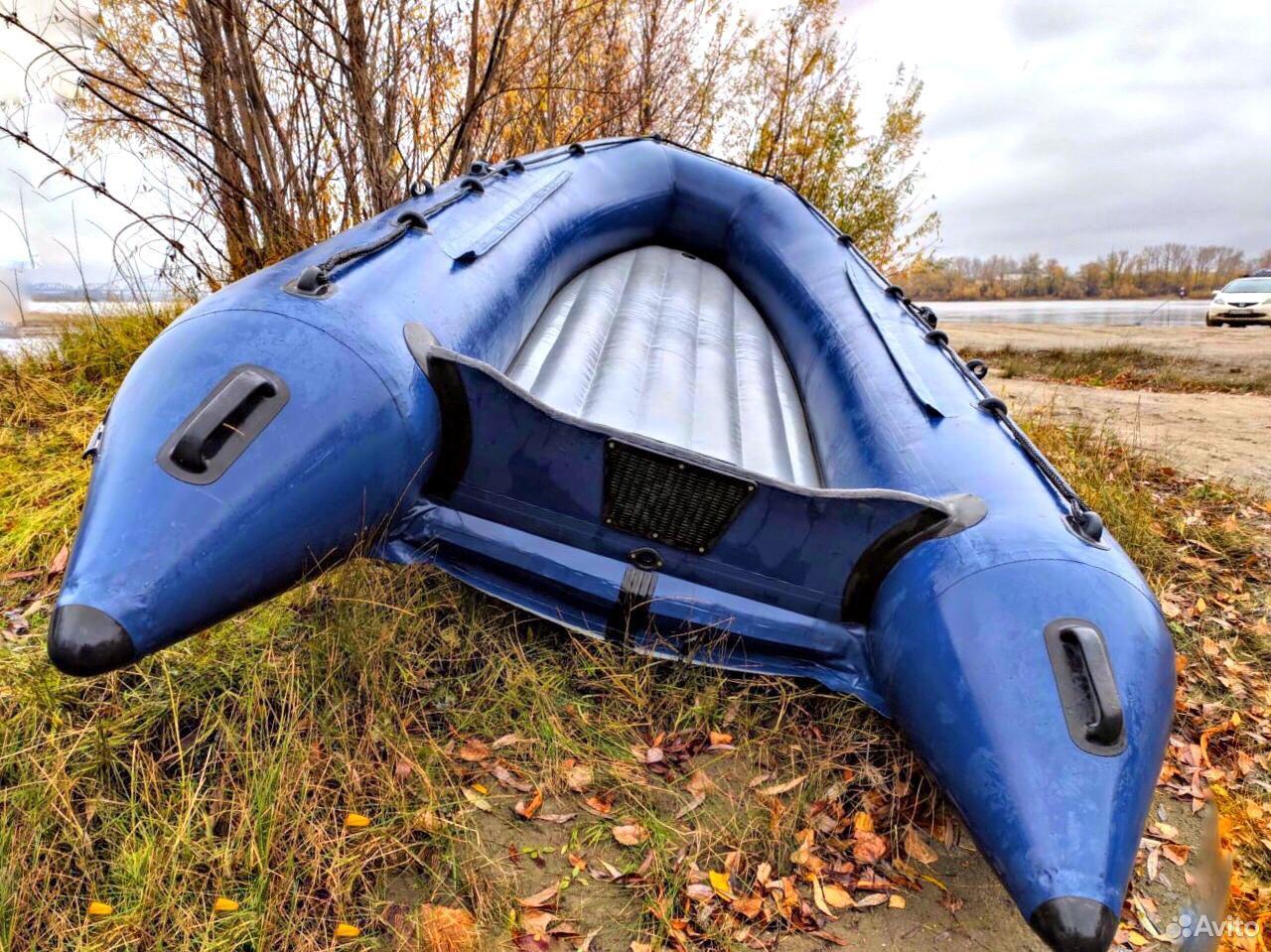 Лодка нднд Река-355 в Новосибирске