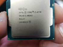 Процессор intel core i7-4770 3.40 Ghz