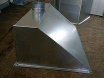 Зонт вытяжной из оцинкованной стали