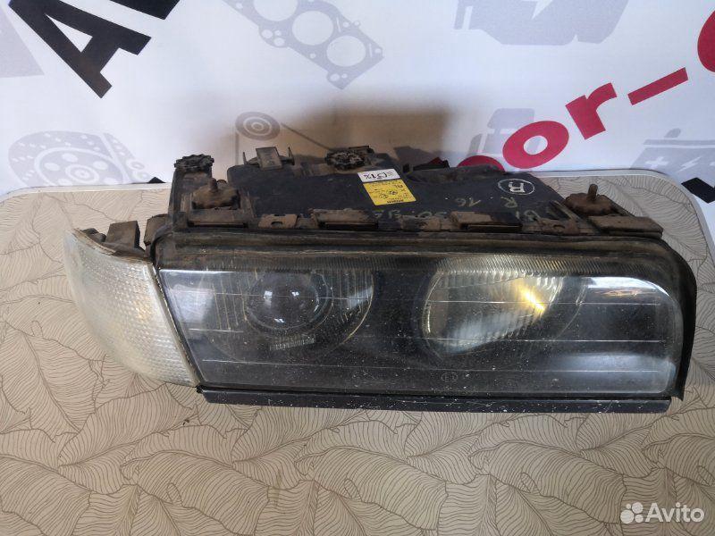 Фара передняя правая Bmw 7 E38 1995  89381164302 купить 2