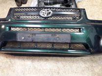 Передний бампер на Toyota RAV 4 в сборе