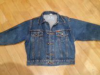 Джинсовая куртка и джинсы (р.116 и р.134)