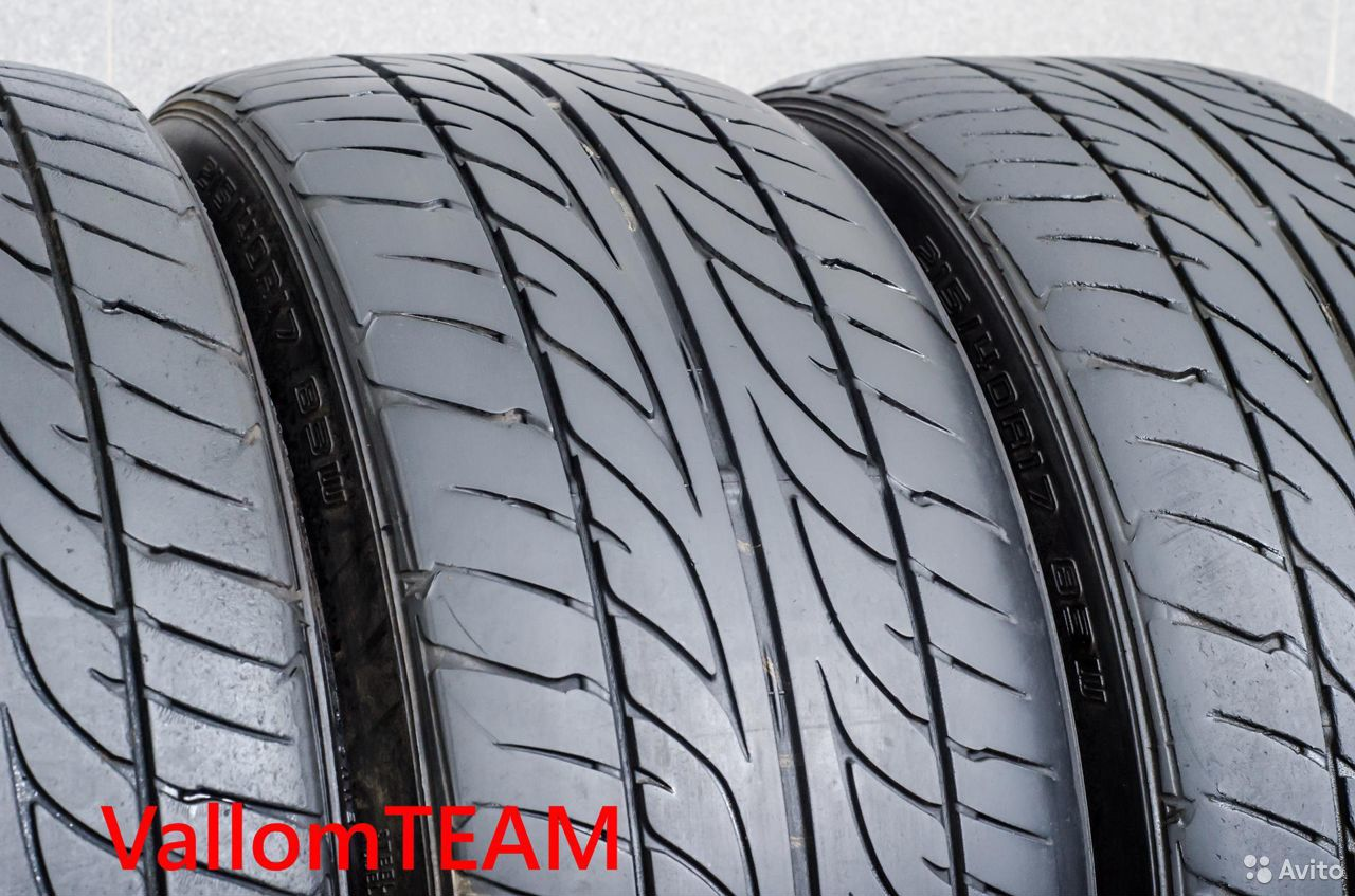 Лот UP102232 Комплект шин 215/40R17 Dunlop SP Spor  89148998836 купить 1