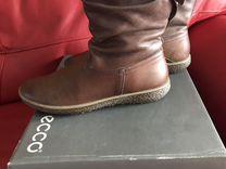Сапоги ecco р40 — Одежда, обувь, аксессуары в Новосибирске