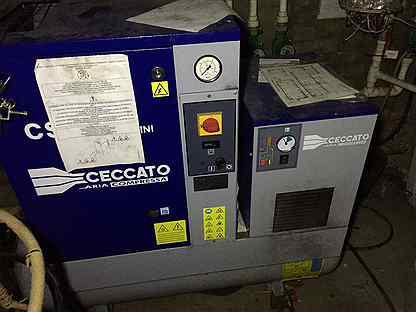 Винтовой компрессор Ceccato CSM 4 D mini